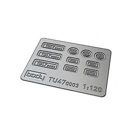 Tabulky TU47