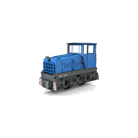 DH120 TTf MAKETA